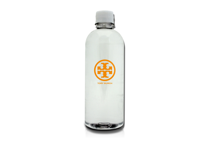 16.9oz. Custom Label Bottled Water with a 2x8 Ultra Clear Label